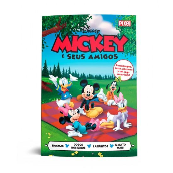 Livrão Mickey e seus amigos