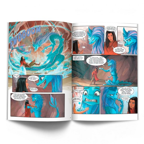 Livro - Raya e o último dragão (HQ)