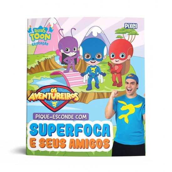 Livro - Pique-esconde com Superfoca e seus amigos
