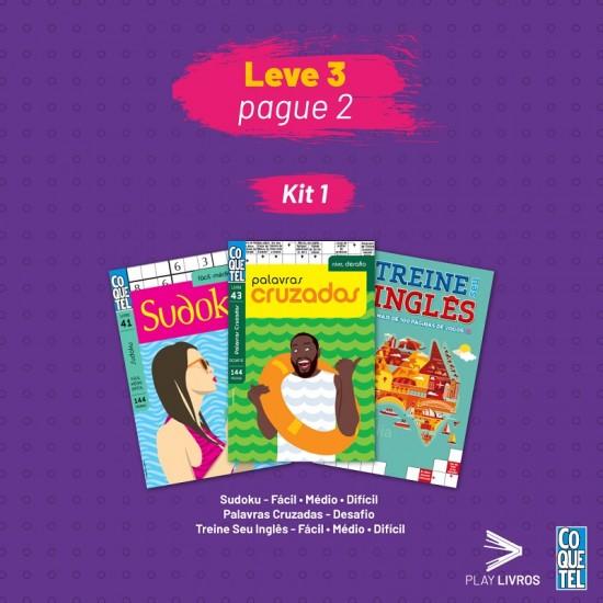 Kit Coquetel 1 - Leve 3 e Pague 2