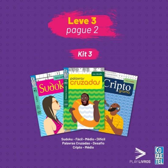 Kit Coquetel 3 - Leve 3 e Pague 2