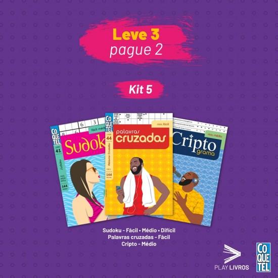 Kit Coquetel 5 - Leve 3 e Pague 2