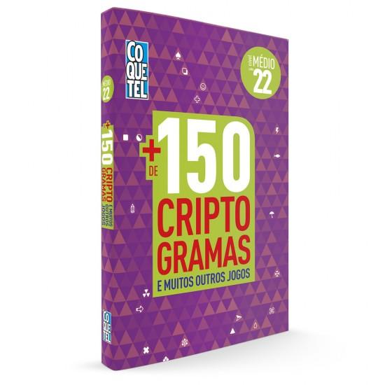 Livro - LIV MAIS DE 150 CRIPTOS-22 S/P