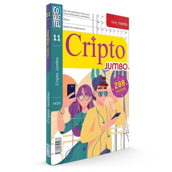 Livro - LV COQUETEL JUMBO CRIPTO S/P 11