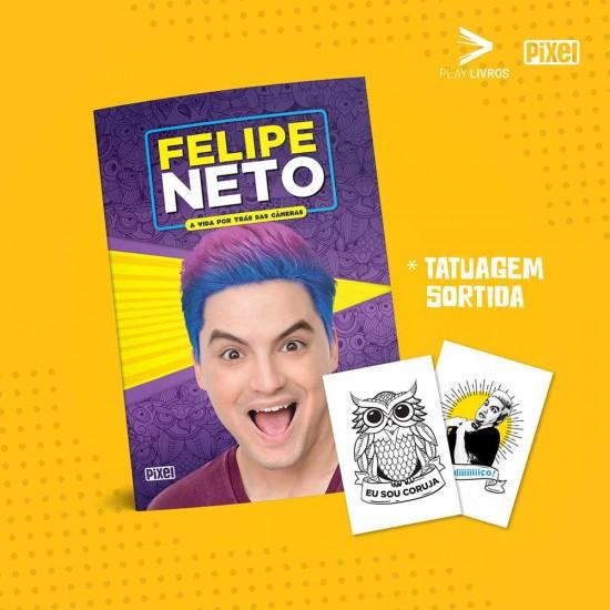 Livro - Felipe Neto - A Vida por trás