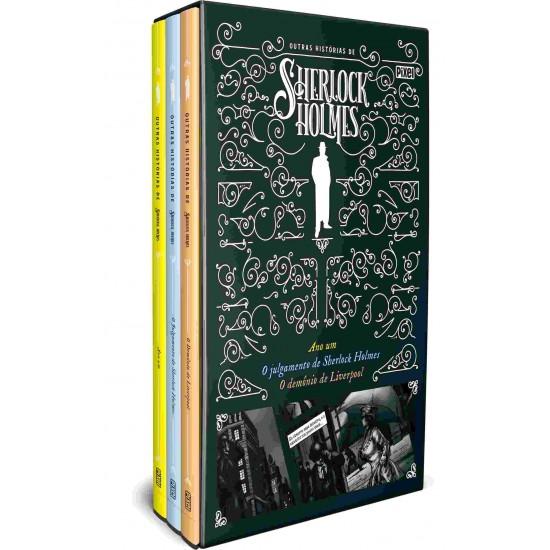 Livro - Box Outras Histórias De Sherlock Holmes