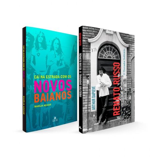 Caí na estrada com os Novos Baianos + Renato Russo: o trovador solitário